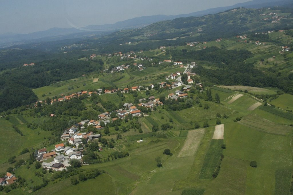 Vrhovac from air