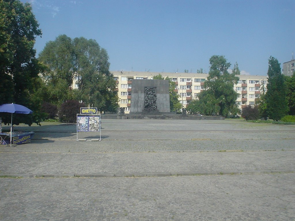 Warsaw - Ghetto, Monument for the heroes