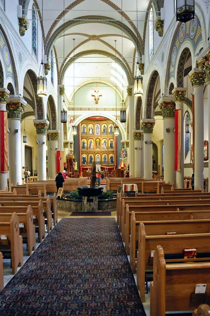 Old Town Santa Fe >> The Cathedral Basilica Of Saint Francis Of Assisi Old Town