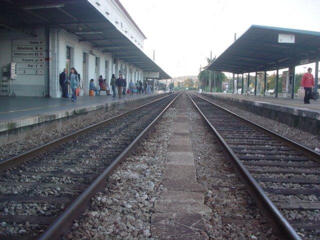 Coimbra-B Station - Line 2 and 1