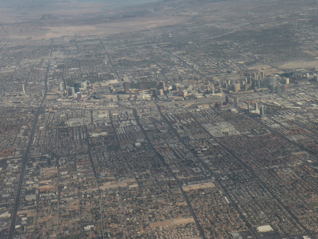 The Strip from United Airlines Flight