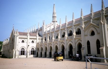 Santhome Cathedral in Chennai