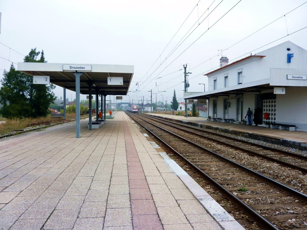 ·˙·CaminoUli2009·.· Coimbra - Souselas, special Portuguese counting system, track 2-1-3