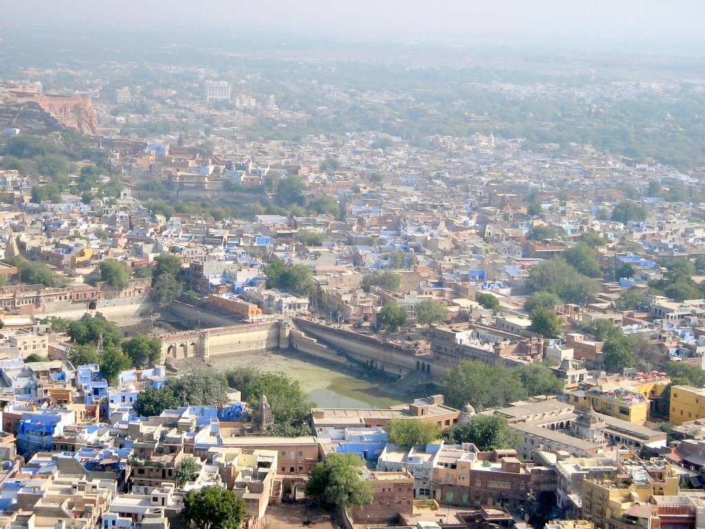 Blue City from Mehrangarh Fort