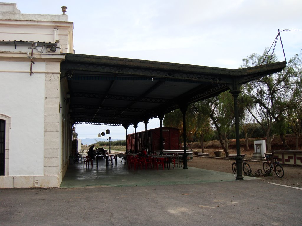 Via verde: Estación de Luque