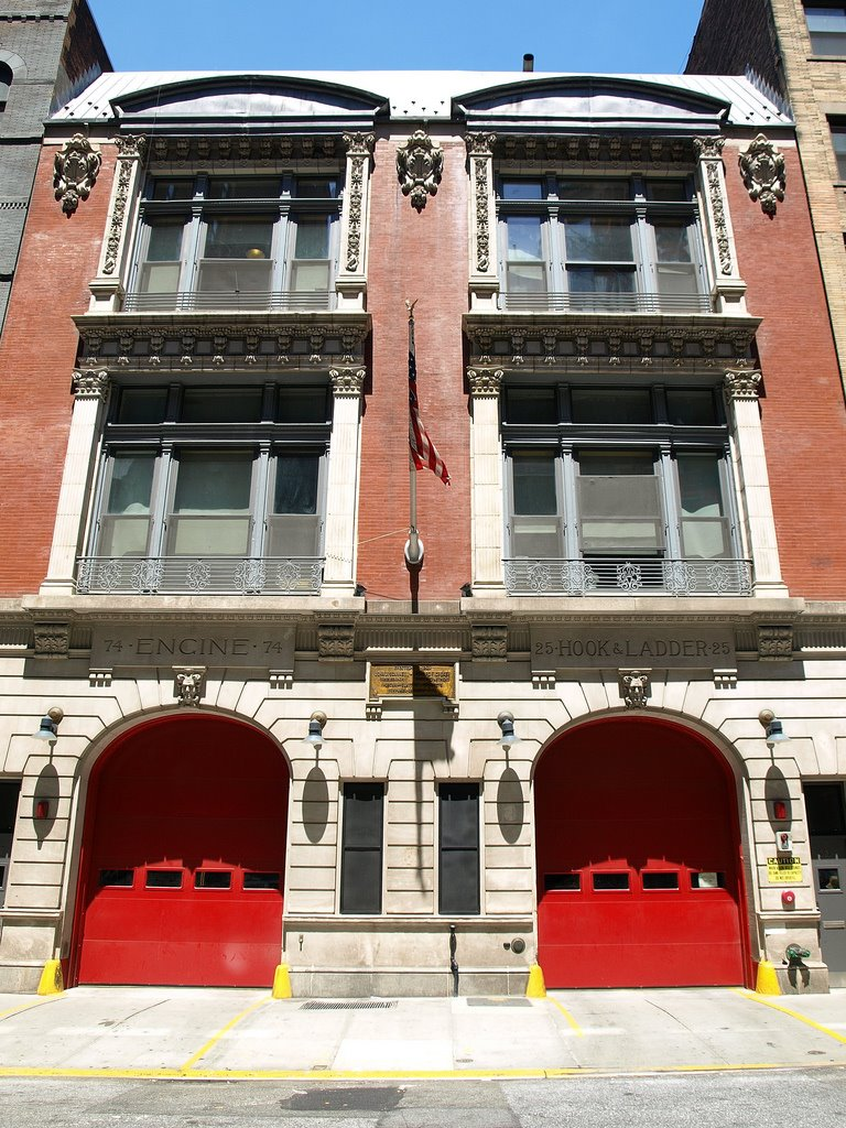 FDNY Firehouse Ladder 25 & Division 3, Upper West Side, New York City