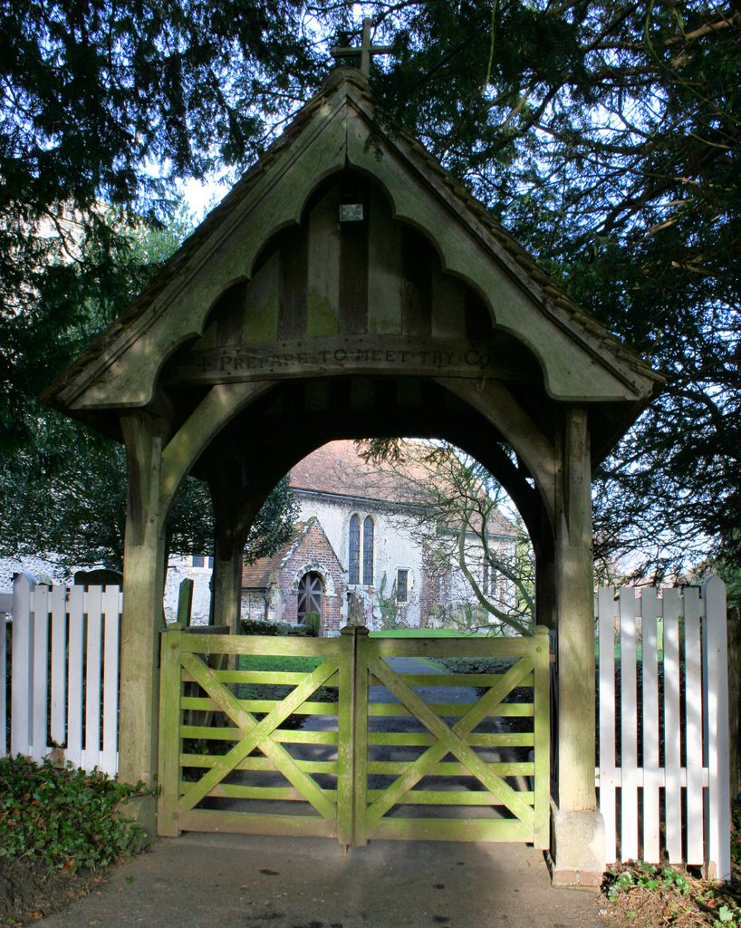 The Lych Gate, St Andrew's Church, Tilmanstone