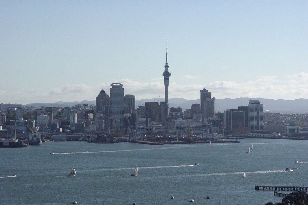 Auckland - City of Sails / New Zealand