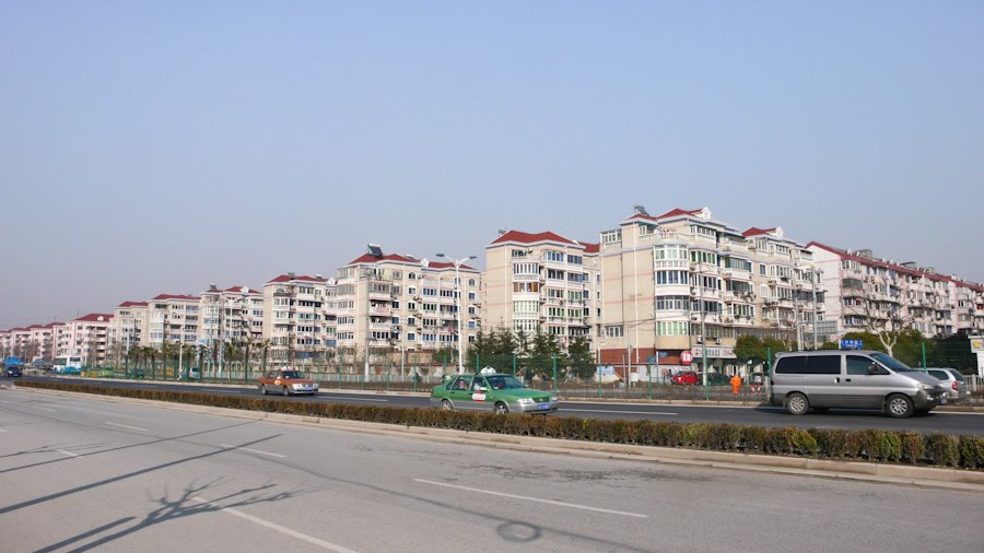 Lingzhao Xnicun, suburb in Pudong, Shanghai