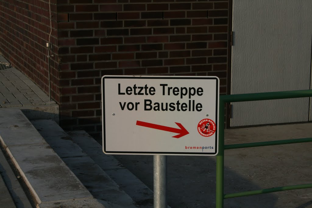 Letzte Treppe - Last stairs LOL