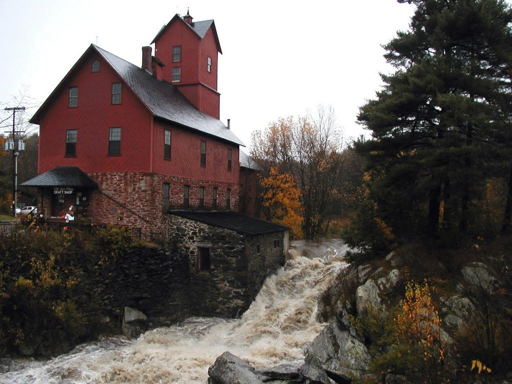 Red Mill in Jericho, Vt