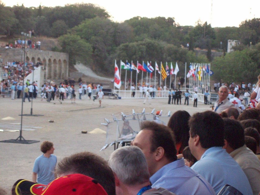 Rhodes - Monte Smith - Island Games Opening Ceremony
