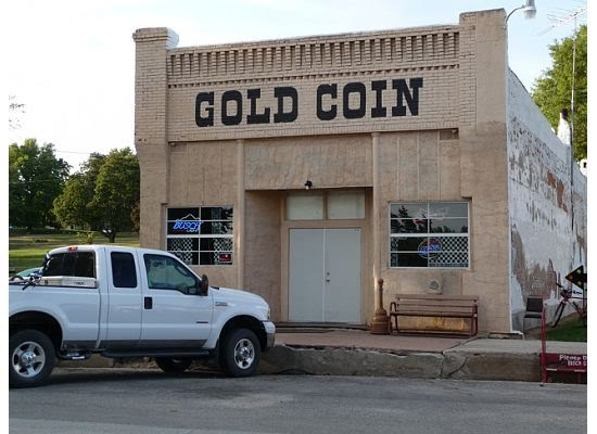 The Gold Coin bar