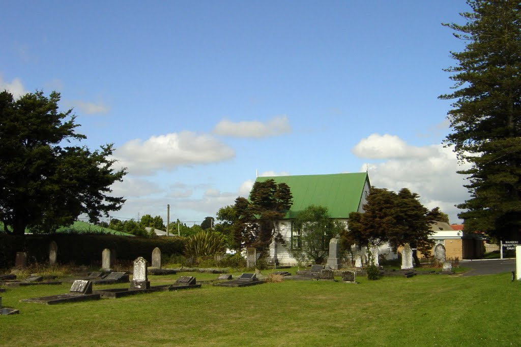 Old Cemetery across to the Airport Goldstar Motel Auckland / New Zealand