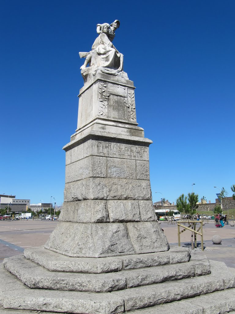 Anglo-Boer War Monument on the Grand Parade