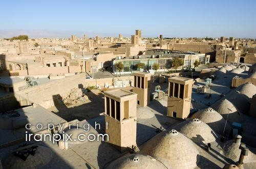 The beatiful Wind Towers (Badgirs) of Yazd, Iran