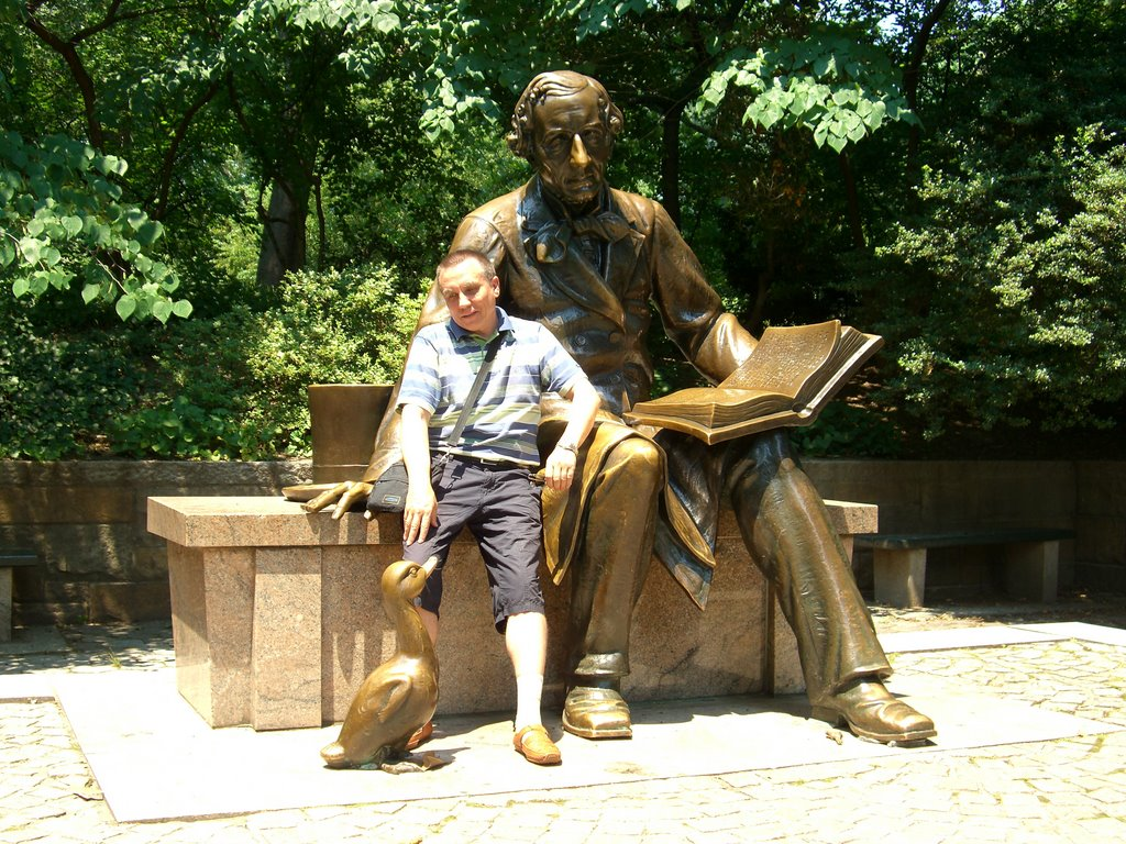 Andersen and me, Central Park, NY