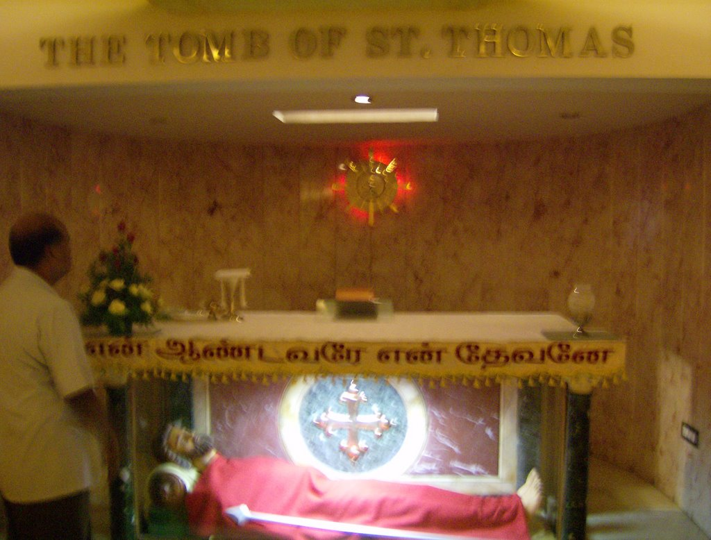 Tomb of Saint Thomas (Mar Thoma) Chennai
