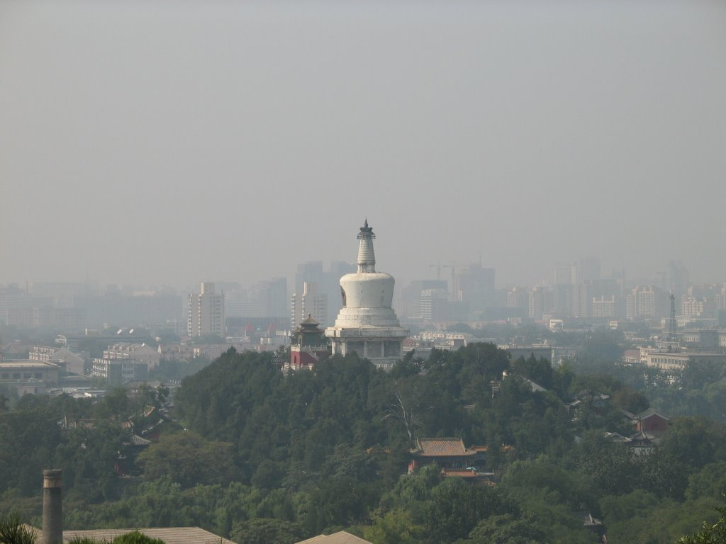 White Tower of Beihai Park 北海白塔