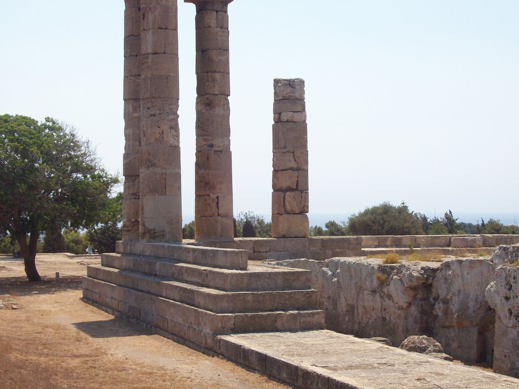 Rhodes - Monte Smith - Apollo's Temple