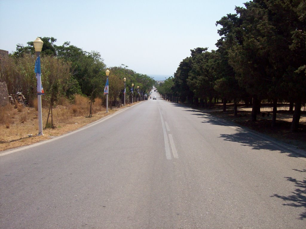Rhodes - Monte Smith - Road to the Ancient Stadium