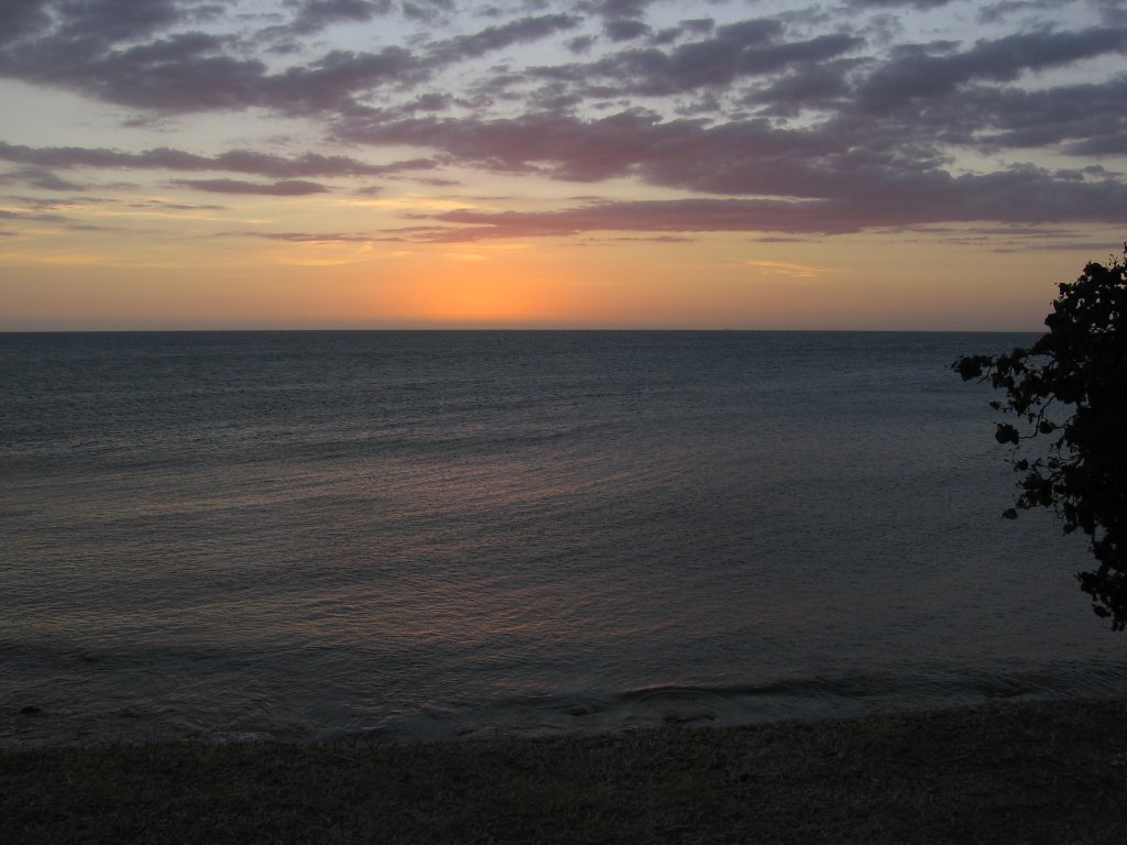 Sunset scene of Ansé Vata