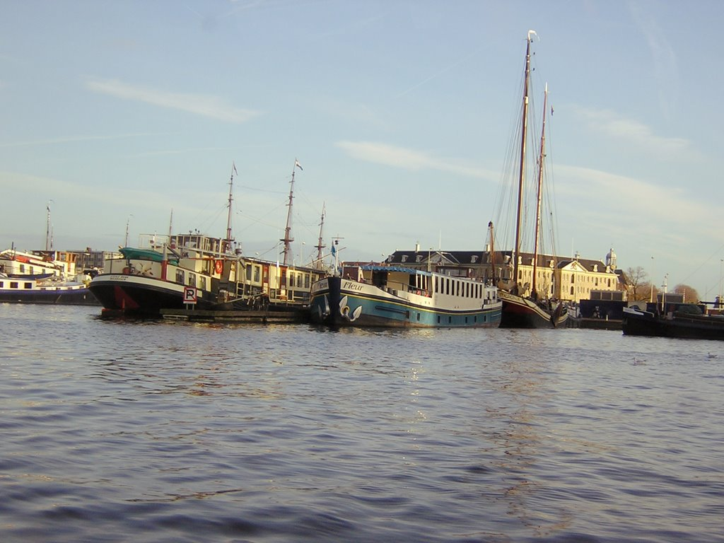 Boats on the IJ