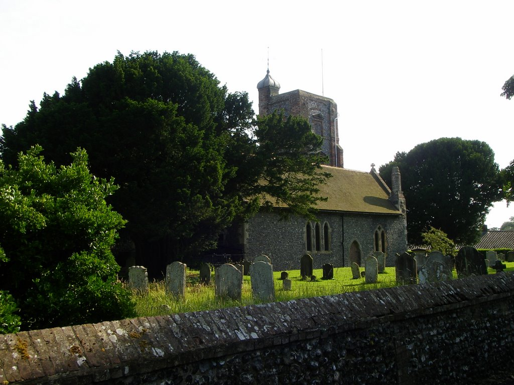 Ringwould church and grave yard