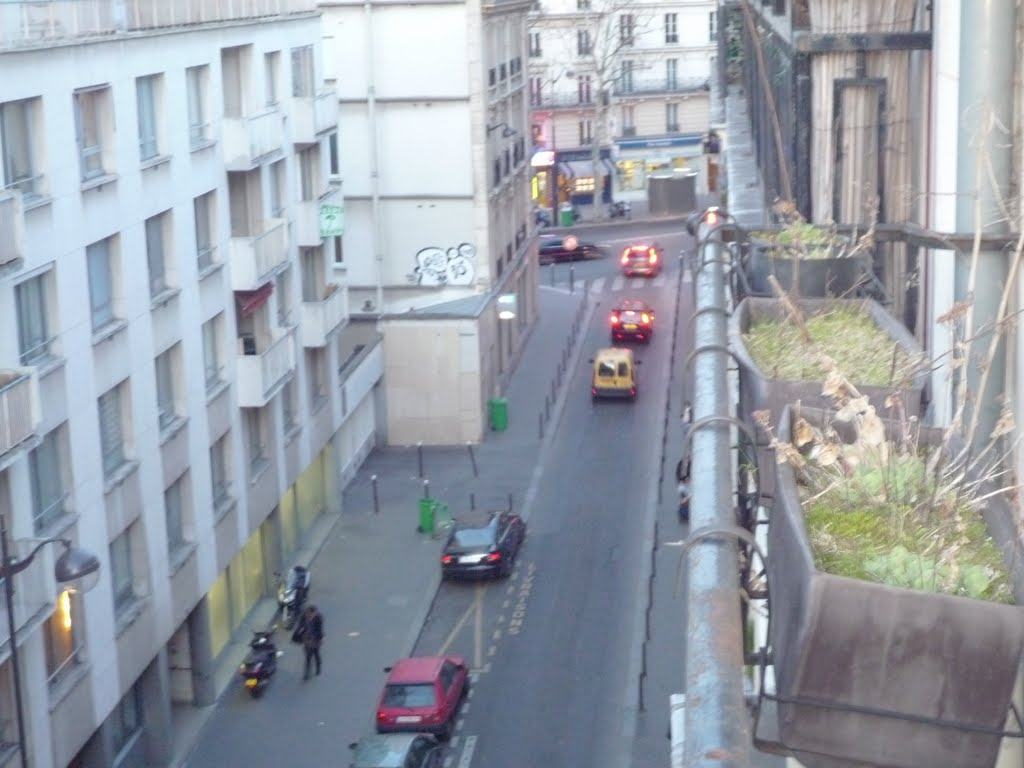 Exit of Rue Chanzy