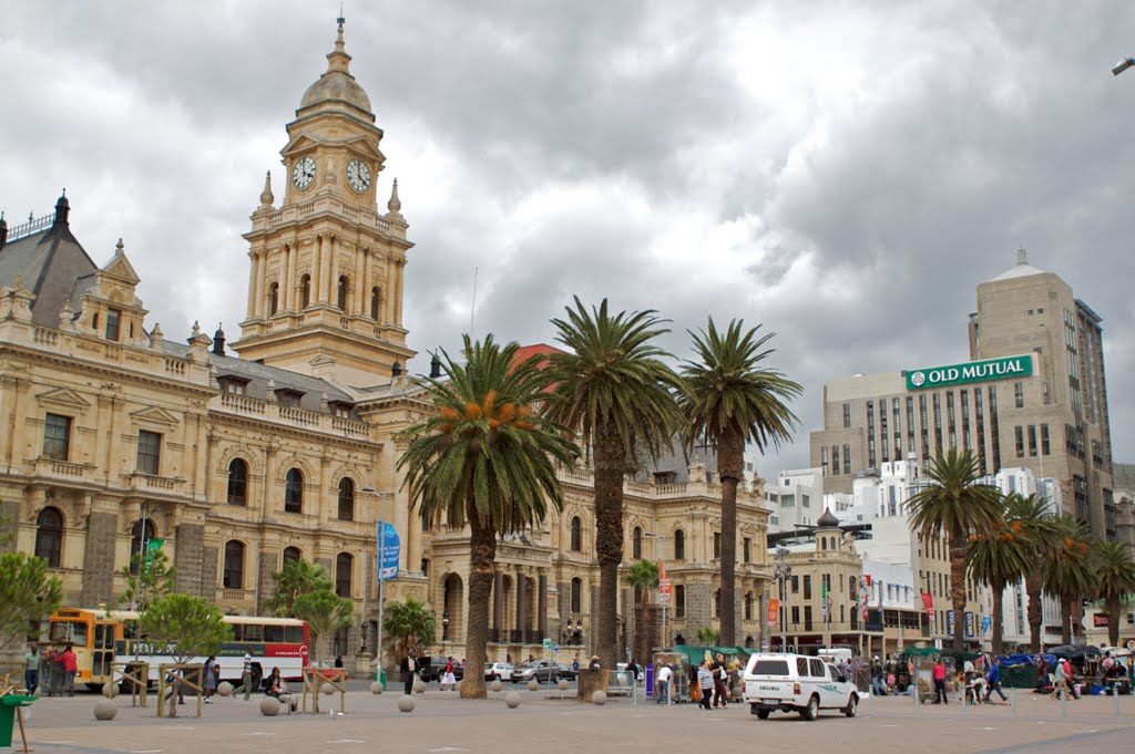 Town Hall and Parade, Cape Town, South Africa