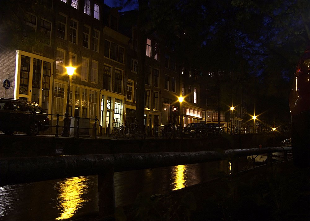 Amsterdam by night,