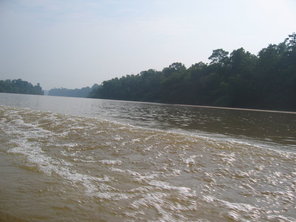 Boat Trip on Tembeling River to Kuala Tahan 2006