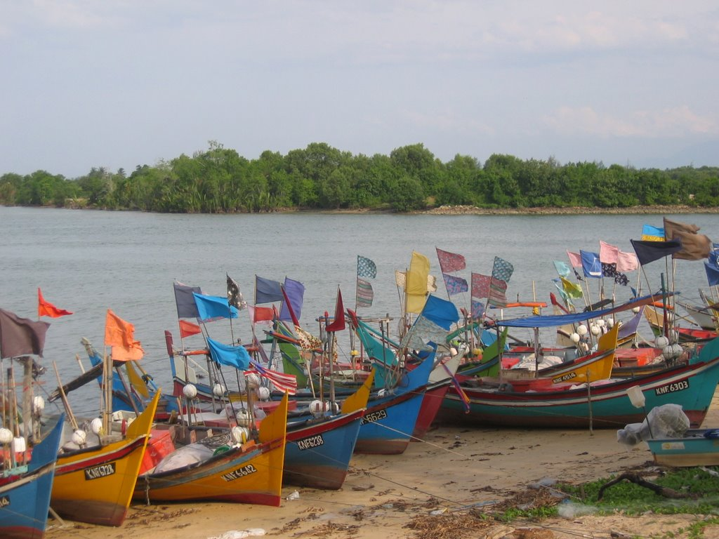 Boats to Perhentian