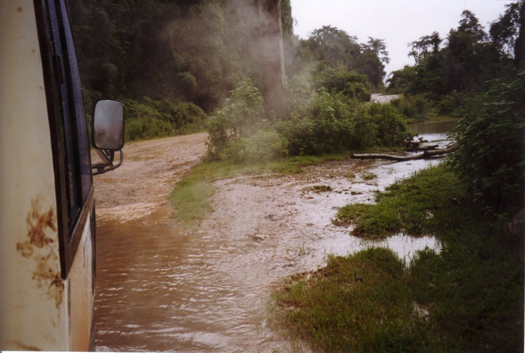 On the Road in Laos