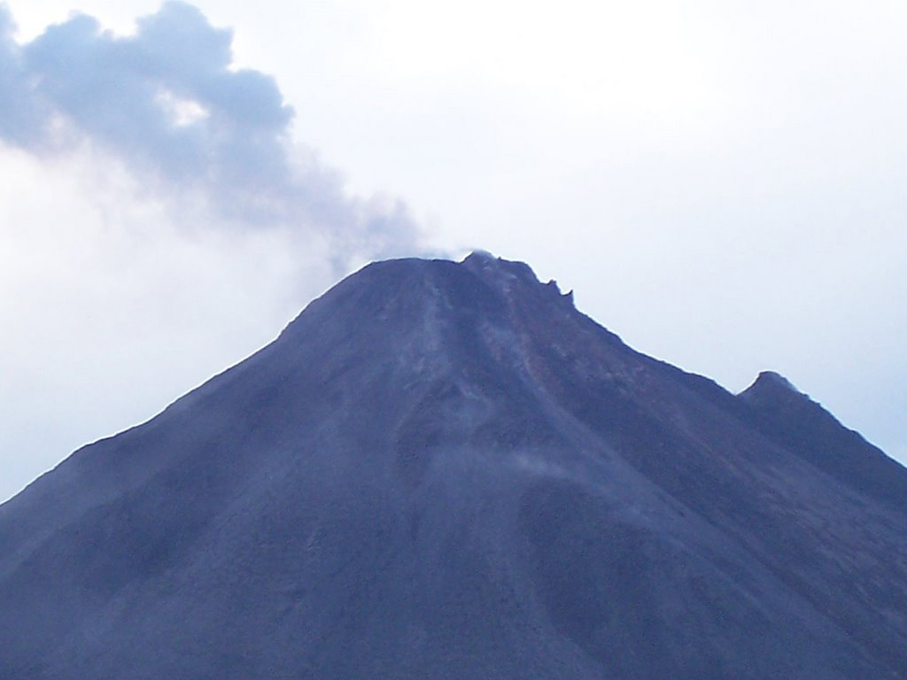 Top of Arenal Volcano