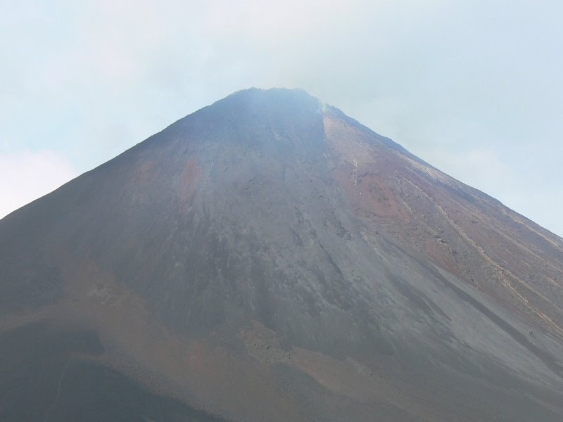 South View of Volcano
