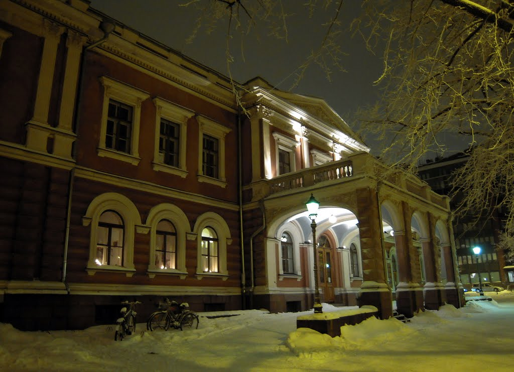 Alexander Theatre in January