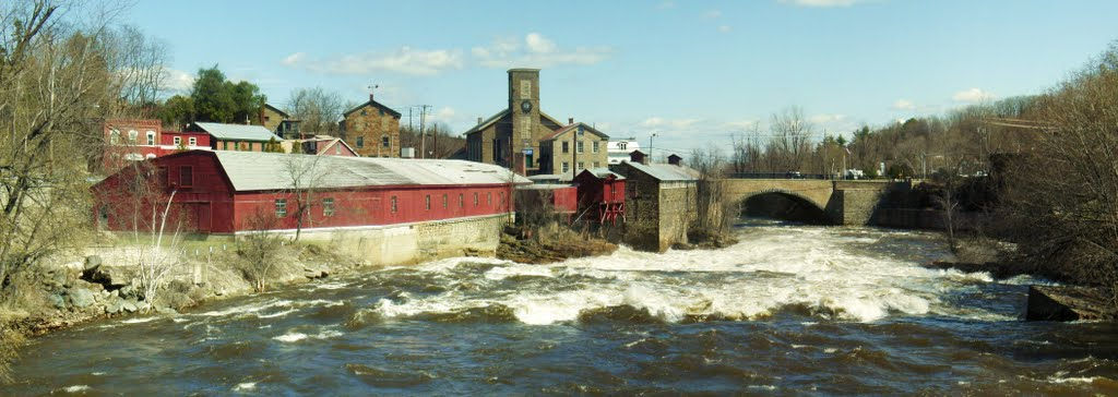 Keeseville NY on the Ausable River