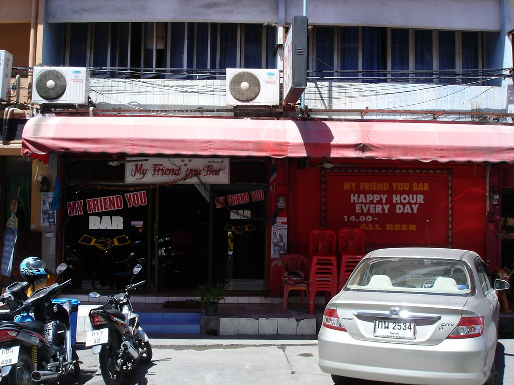Soi 6 Pattaya - My Friend You Bar 11 00am | Mapio net