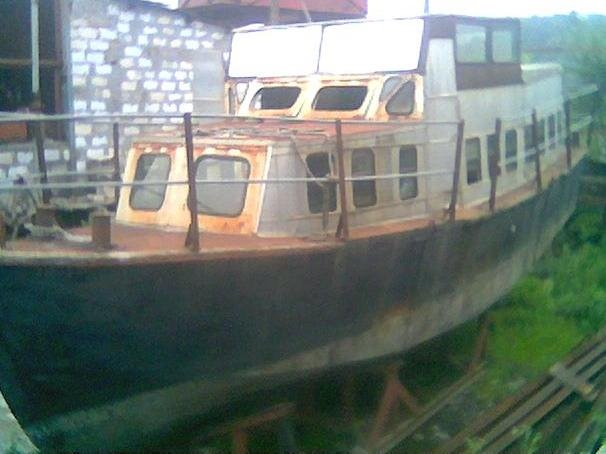 Old BBMB Boat now in ShipYard (Scrap)