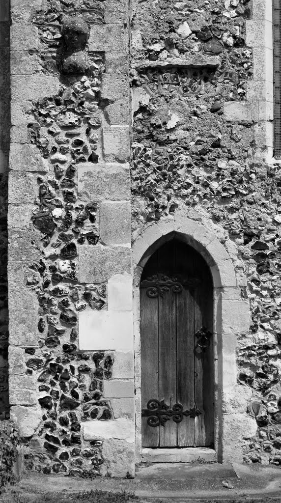 Detail of St. Mary's Church, Eastry
