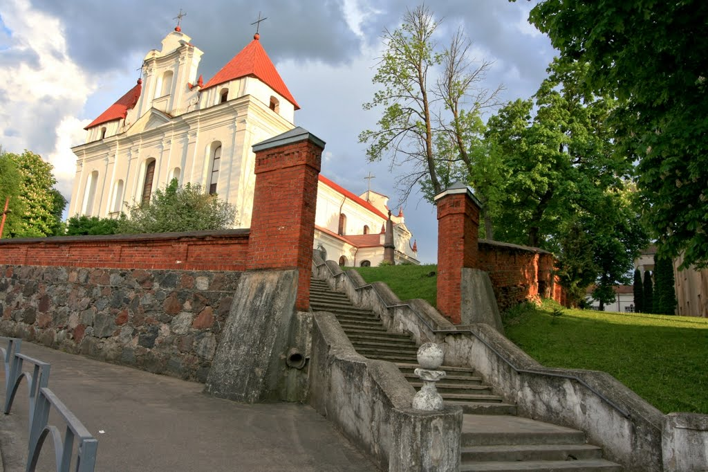 Raseiniai Assumption of the Blessed Virgin Mary Church (1663, reconstruction in 1776-1783)
