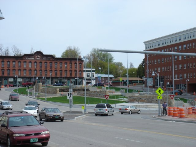 The New Traffic Circle in Winooski, Vermont