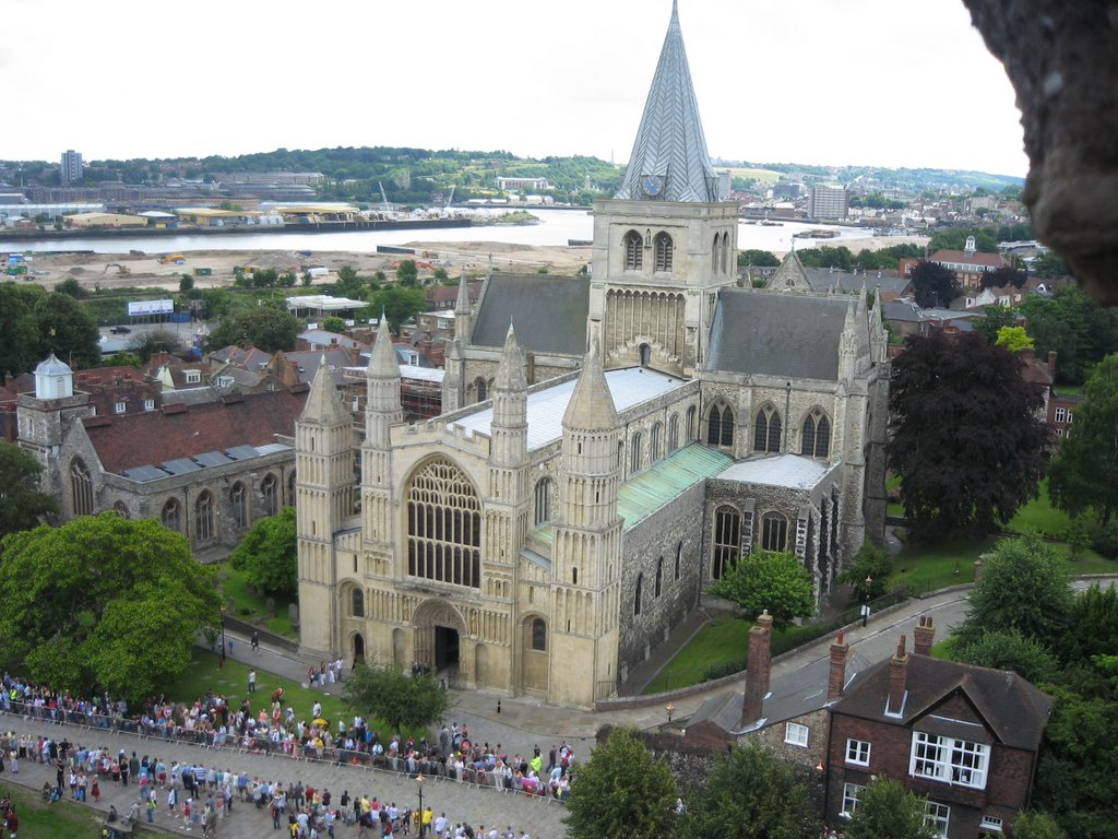 Rochester Cathedral, England's second oldest Cathedral