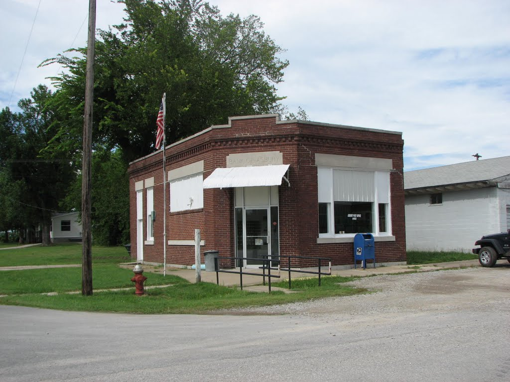 Post Office in Asbury, MO