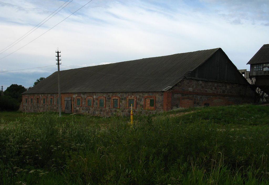 Old farm in Chodcy