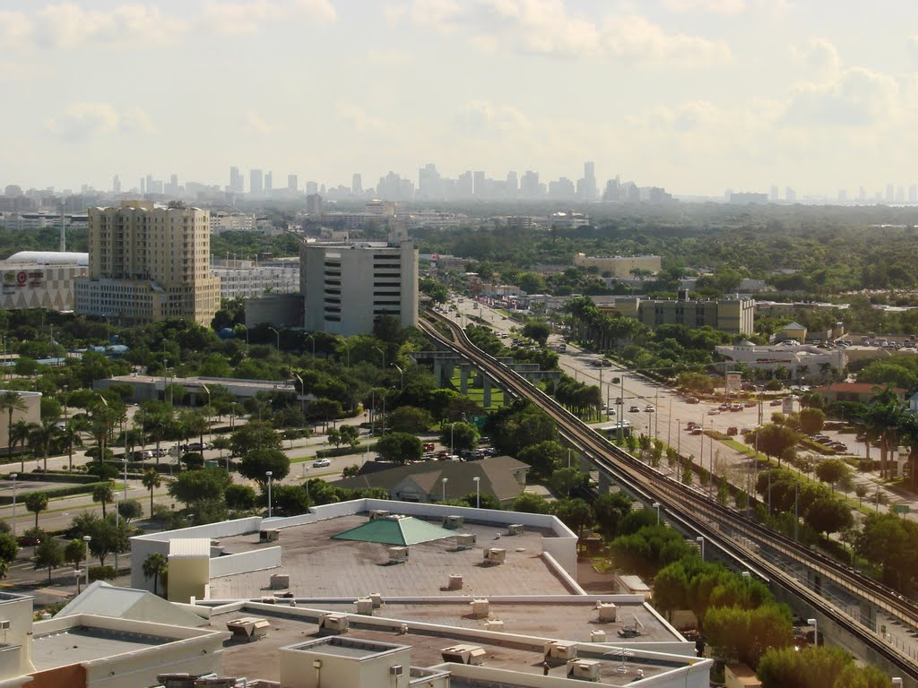 View From 19th Flo Dixie Highway South Dadeland Boulevard