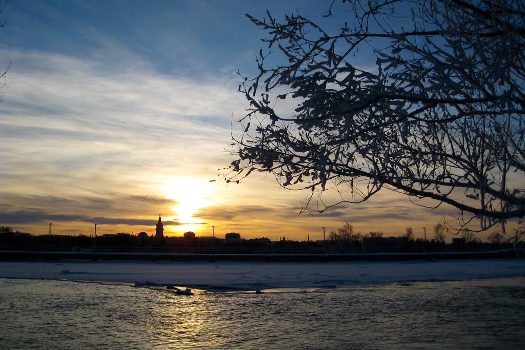 Oulu at winter