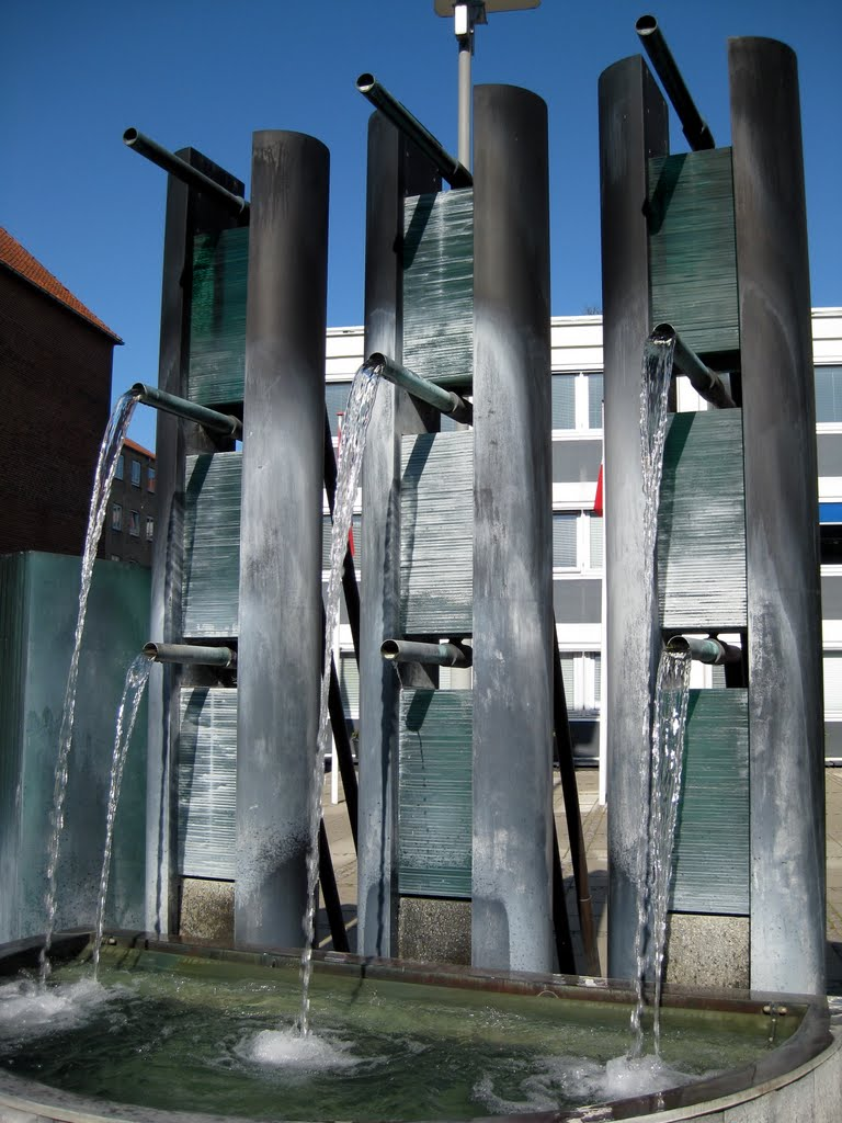 Aalborg Kongres and Kulture Center Fountain
