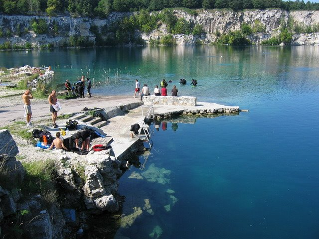 Poland, Cracowia Diving site